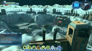 DCUO Hive Moon Base Investigations and Briefings