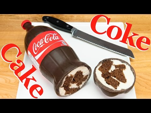 Generate Coca Cola Bottle Cake (Coke Bottle Cake)  from Cookies, Cupcakes and Cardio Images