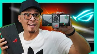 ROG PHONE 2! Smartphone MAIS POTENTE do MUNDO! SENSACIONAL. Gamer, unboxing (ASUS)