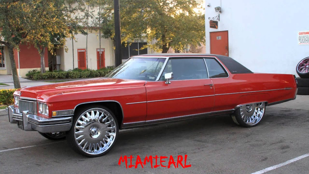 """Classic Cadillacs For Sale >> C2C Customs- Cadillac Coupe Deville on 26"""" Asanti's - YouTube"""
