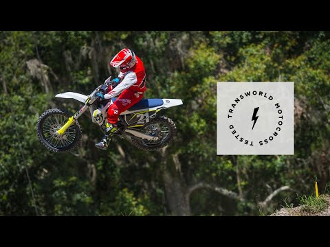 First Impression Test Ride Of The 2019 Husqvarna FC 250 | TransWorld Motocross