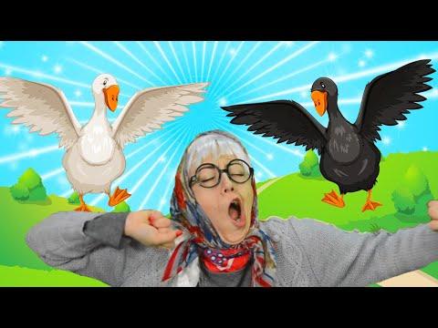 Гуси у бабуси мультфильм смотреть онлайн бесплатно
