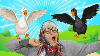 Жили у Бабуси Два Веселых Гуся | Песни для Детей | Сборник Песенок 10 минут |  Чух Чух ТВ