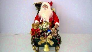 Christmas Presents Ideas - Fibre Optic, Led Lights, Xmas, Santa, Sleigh - Christmas All Year