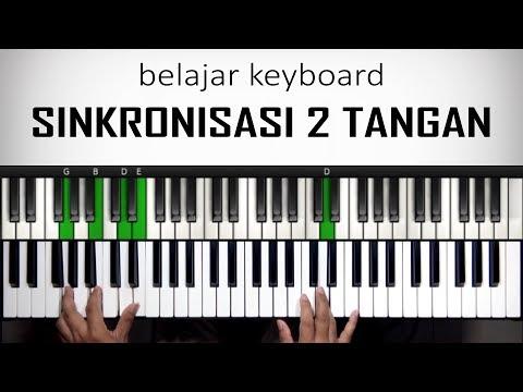 Belajar Keyboard - Latihan Sinkronisasi 2 Tangan | Belajar Piano Keyboard
