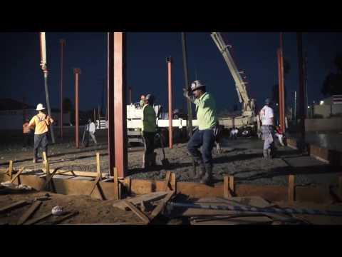 Madrid Construction Riverside Project - Concrete