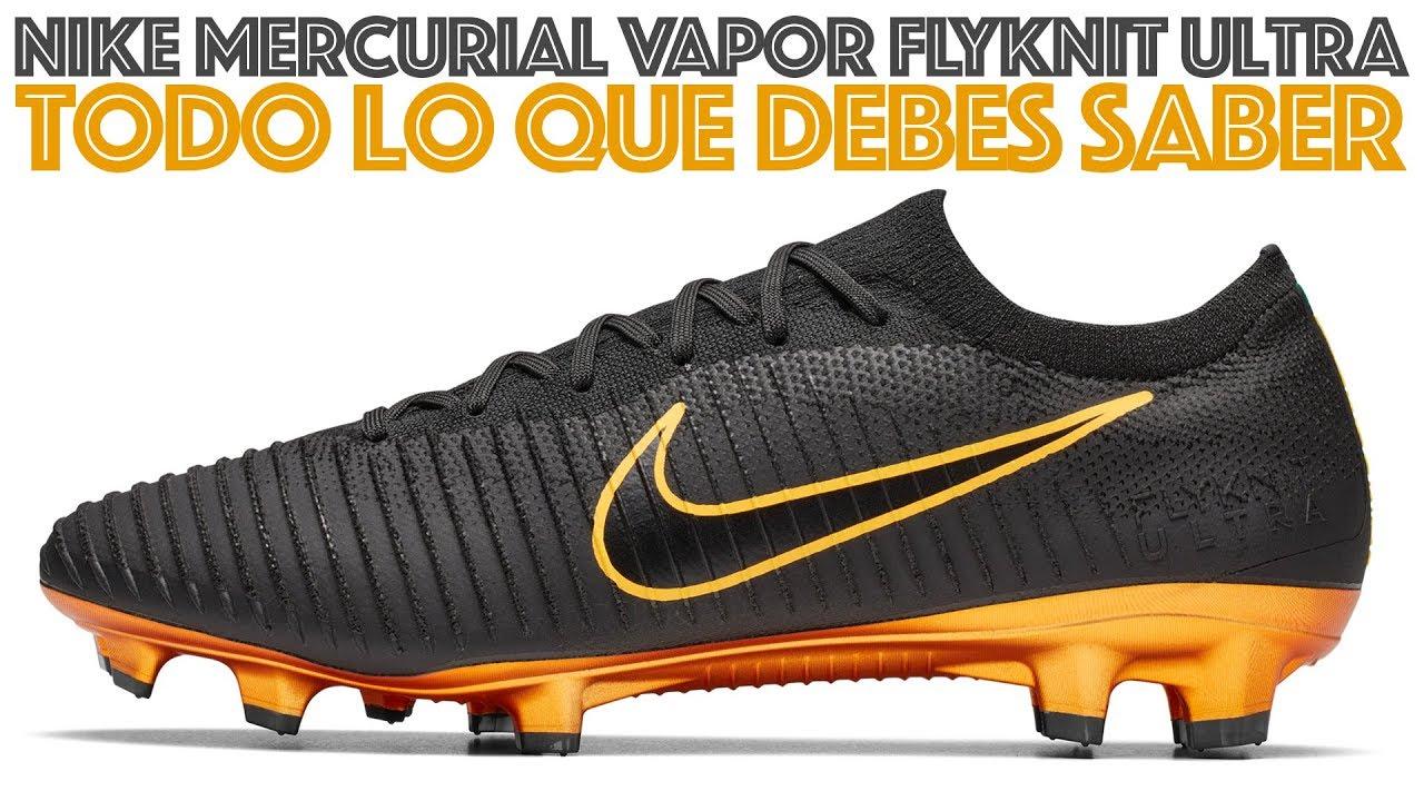 huge discount 303e1 28f4e Nuevos Nike Mercurial Vapor Flyknit Ultra