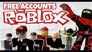 Free Roblox Accounts #1