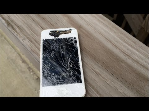 iPhone 4 drop test
