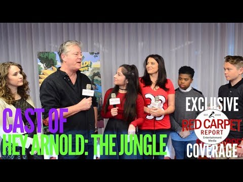Hey Arnold! The Jungle Movie cast talks about the new movie that took 15 years to make! Nickelodeon