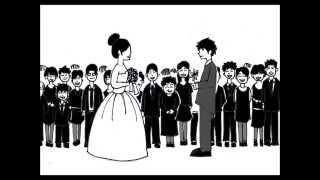 結婚式 サプライズ 余興 パラパラ漫画