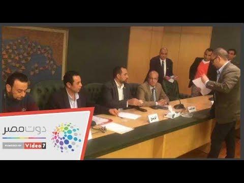 نقابة الصحفيين تلقى طلبات الترشح فى انتخابات التجديد النصفى  - 10:54-2019 / 2 / 10