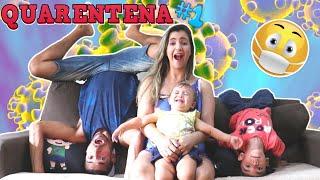 ESTAMOS EM QUARENTENA - Família Rocha #diariodefamilia