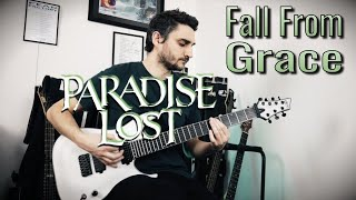 Paradise Lost 'Fall From Grace' GUITAR COVER (NEW SONG 2020)