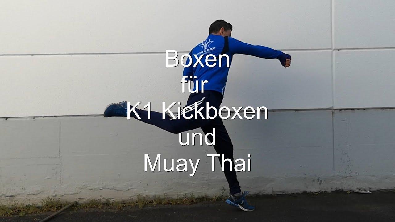 10 Boxschläge für Kickboxen und Muay Thai