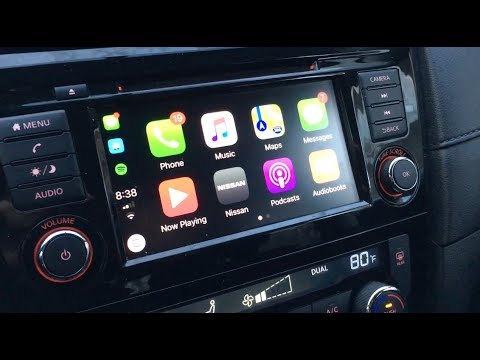 2018 Nissan Rogue Apple Carplay Tutorial Nissan Connect Youtube