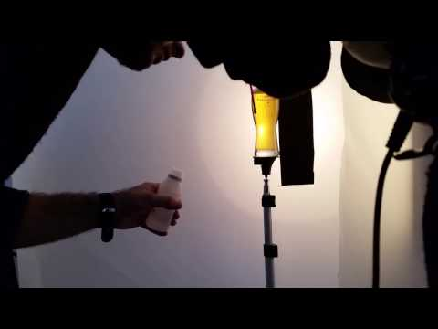 behind the scenes - still life - beer advertising photography