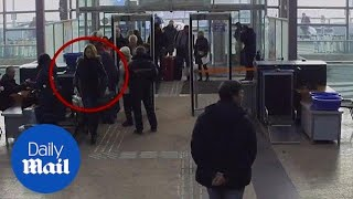 Russia airport CCTV released showing Yulia Skripal before attack - Daily Mail