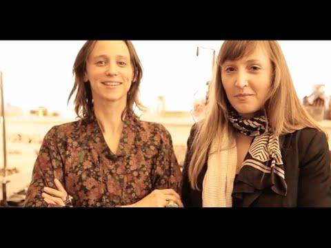 Olive Green Cat co-founders Ida Elsje & Philippa Green creators of contemporary jewellery