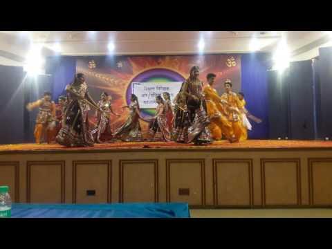 Pankhida tu udijaje song dance style garba inter school compition