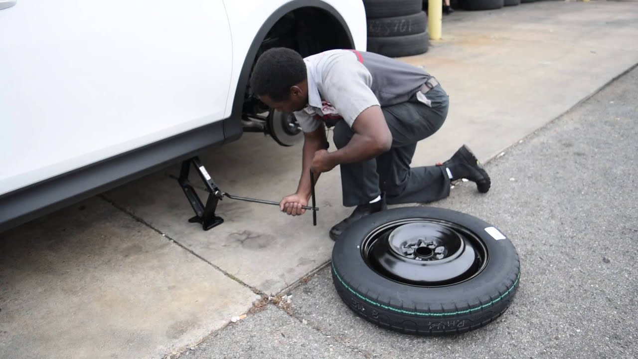 How To Change A Flat Tire With Certified Technician Jimmy Berry KNOWLEDGE IS POWER MY PEOPLE