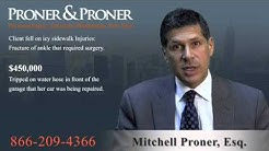 Slip & Fall Accident Attorney Carnegie Hill, NYC, NY | 866-209-4366 | Injury Lawsuit Lawyer