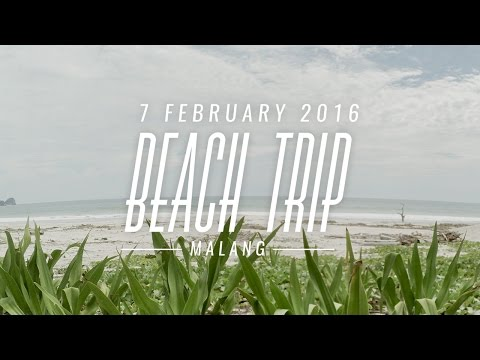 Foxcamp : Trip Pantai di Malang INDONESIA!  [Travel Video]