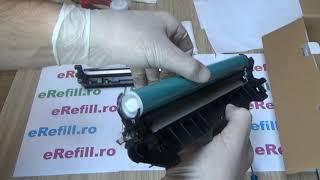 How to refill cartridge HP CF244A 44A CF248A 48A M15 M28 M29W