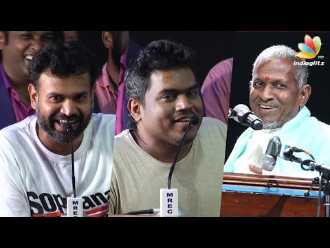 We only have rights to copy Ilayaraja Music : Premgi Amaran's Funny Speech | Yuvan Shankar Raja