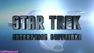 Star Trek Enterprise Cufflinks Licensed by CBS Studios - CuffPlanet Thumbnail