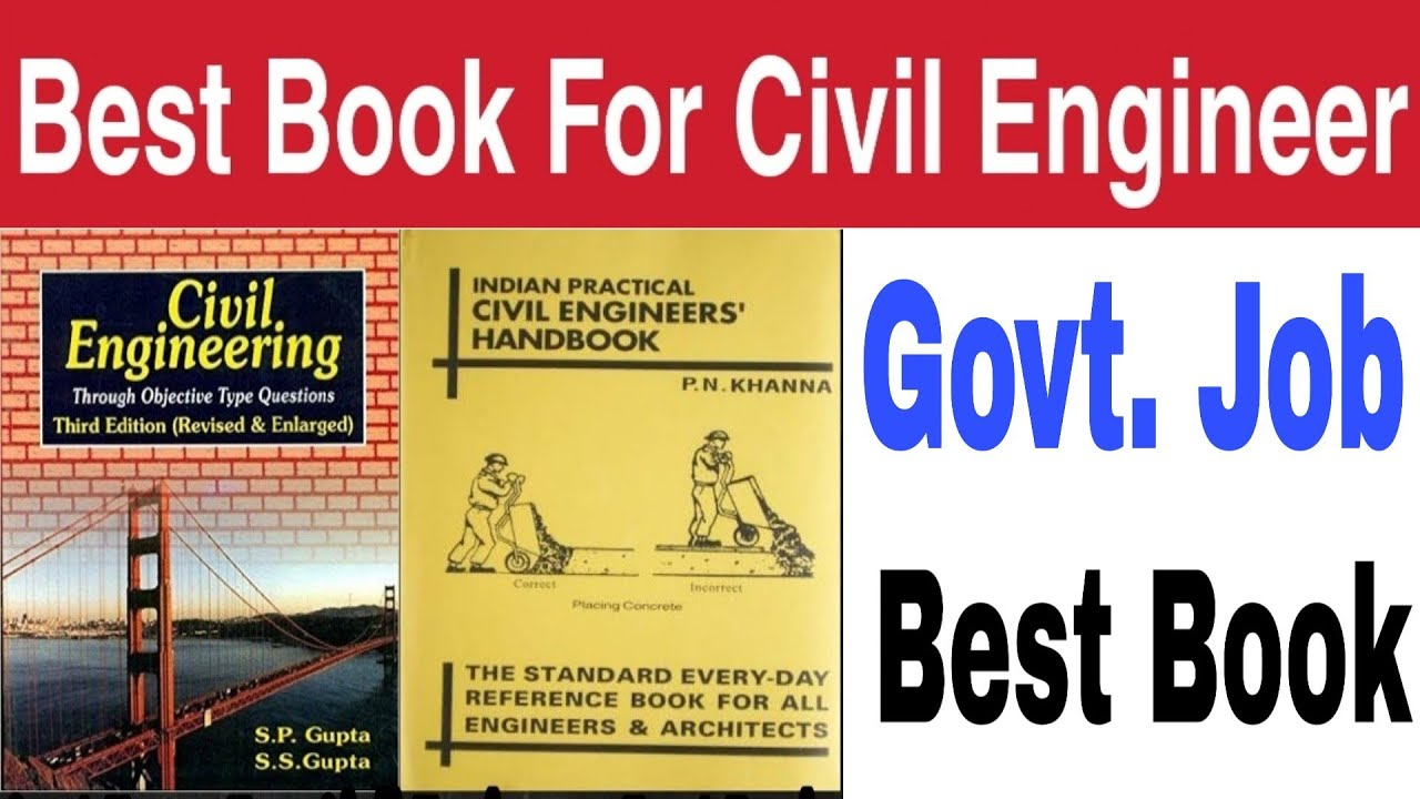 Govt Exam For Civil Engineers Best Book