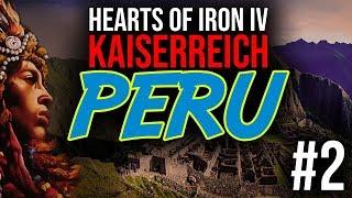 Starcia na granicach i UNIA!  - Kaiserreich   Peru #2