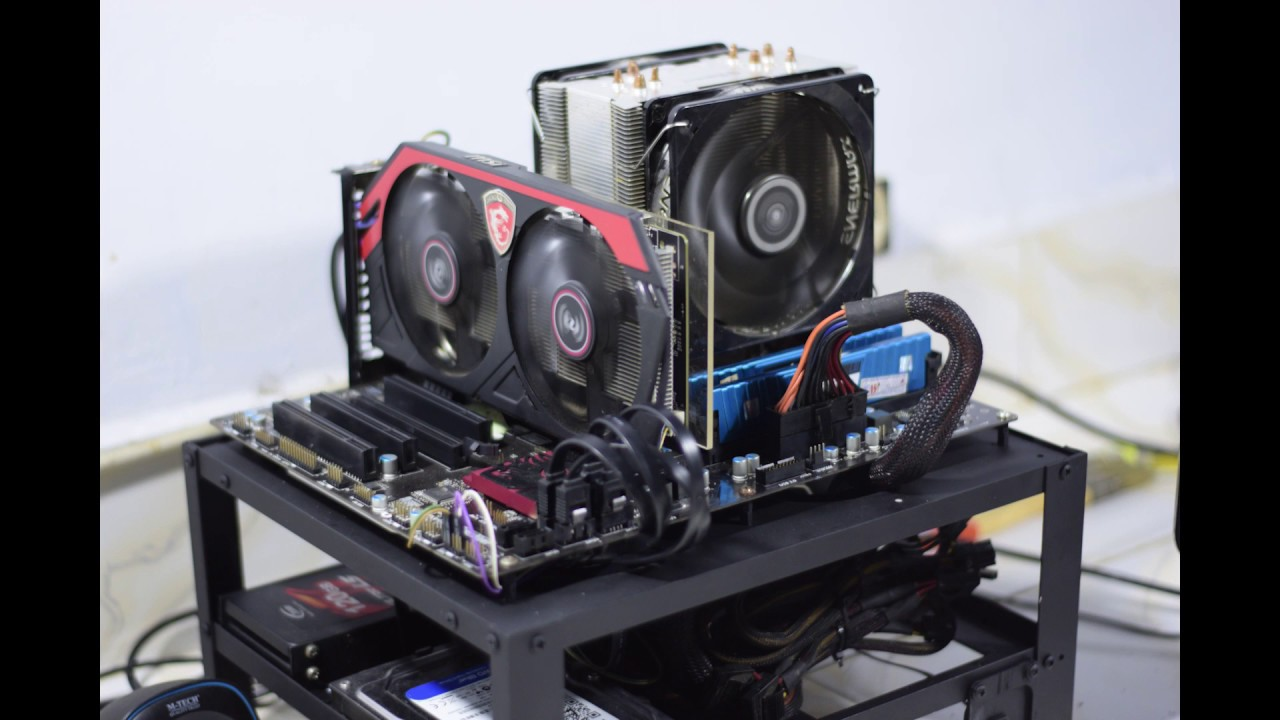 Casing Pc Termurah Di Dunia Cara Membuat Pc Test Bench Youtube