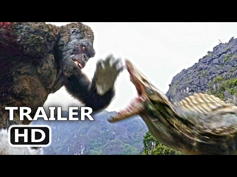 "Thumbnail: KING KONG Official Trailer + CLIP ""The Fight"" (2017) Blockbuster Action Movie HD"