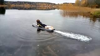 Design  and make electro surfboard (jetsurf) / Разработка и изготовление электросерфа (джэтсерф)