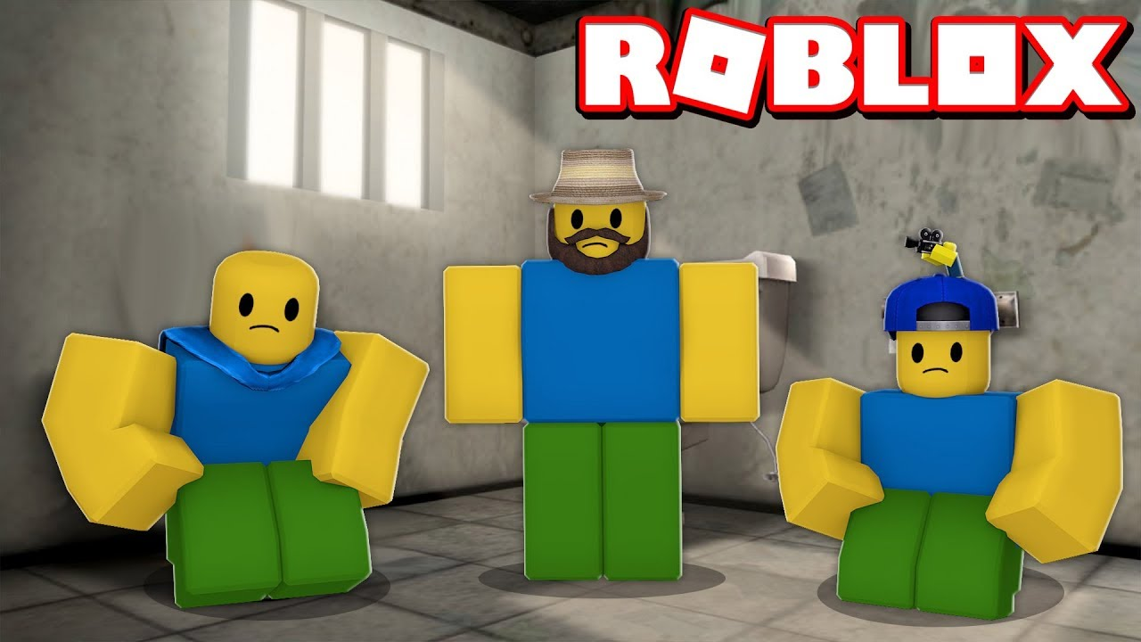 Trapped In The Prison In Roblox Jailbreak Noob Family Roleplay Youtube