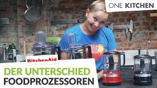 KitchenAid Food Prozessoren iṁ Vergleich – Welcher passt zu Dir | by One Kitchen