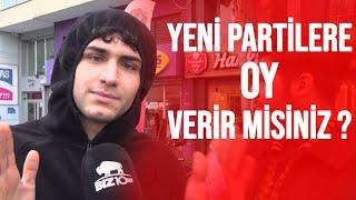 Vatandaşa Sorduk: Ali Babacan ve Ahmet Davutoğlu'nun Partilerine Oy Verir misiniz?