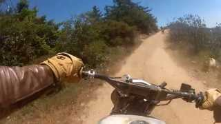 Kawasaki W650 trail ride desert sled Triumph killer