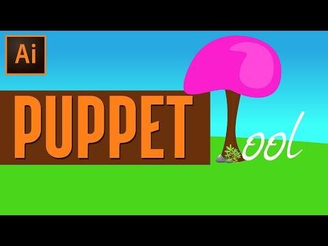 NEW Adobe Illustrator Tool!! | Illustrator Puppet Warp Tool