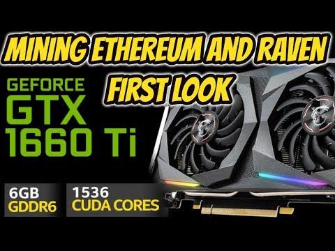 Best New Budget Gpu For Mining GTX 1660 Ti
