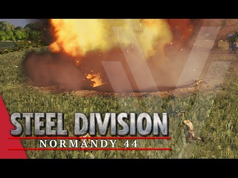 2nd Infantry Division! Steel Division: Normandy 44 Beta Gameplay #17 (Omaha, 3v3)