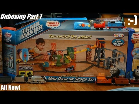 Thomas & Friends Trackmaster: Mad Dash On Sodor Set Unboxing 1 Of 3