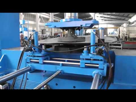 400T Dish End Press With Manipulator