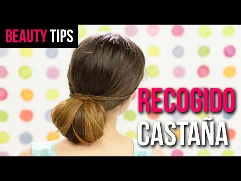 C mo hacer un recogido casta a beauty planet youtube for Recogido castana