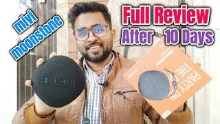 mivi moonstone bluetooth portable speaker Full review after 10 days uses
