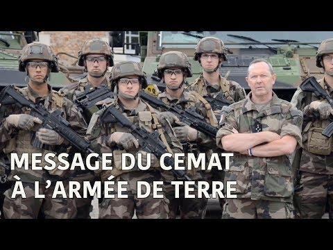 Message du CEMAT à l'armée de Terre