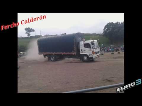 Ginkana Camionera En San Gabriel Ecuador...EURO3