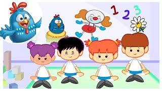 School Song: Flea Fly | Lottie Dottie Chicken UK | Nursery Rhymes For Kids