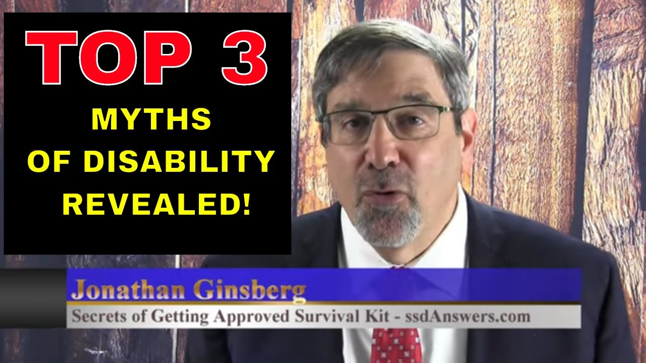 Top 3 Myths & Misconceptions About Social Security Disability